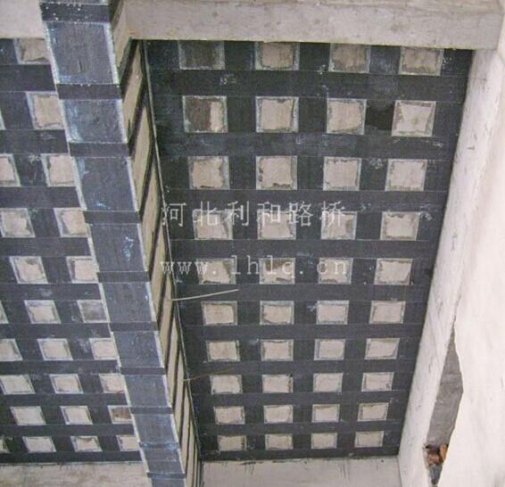 碳纤维加固混凝土板