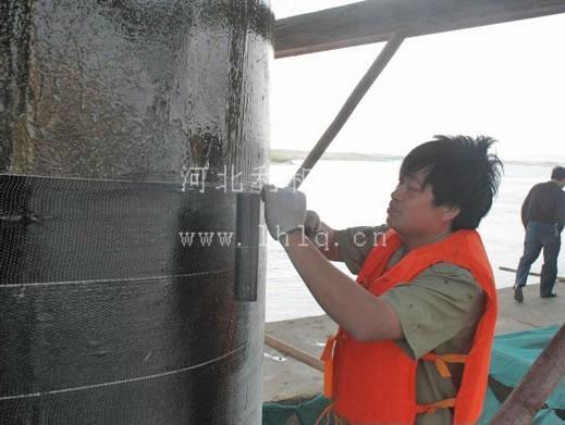 碳纤维加固混凝土柱